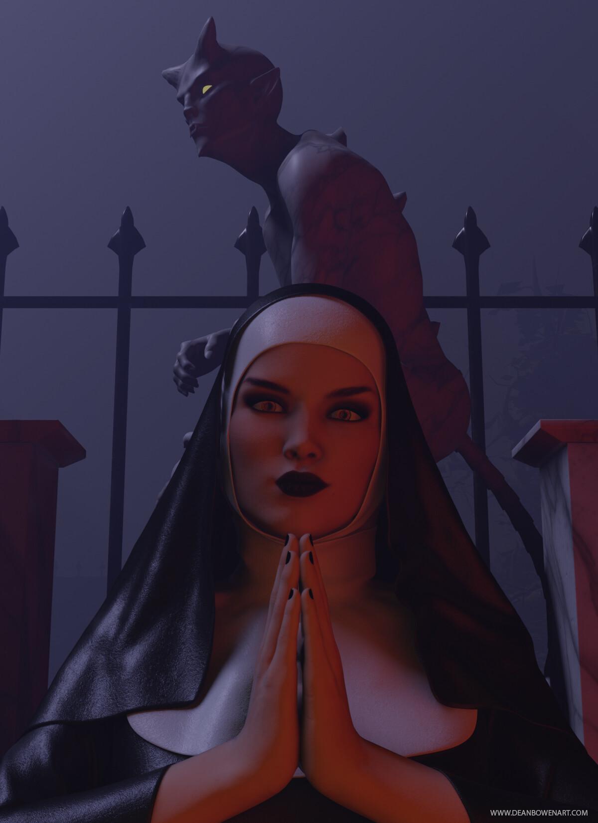 Dean bowen possessed nun by dean bowen