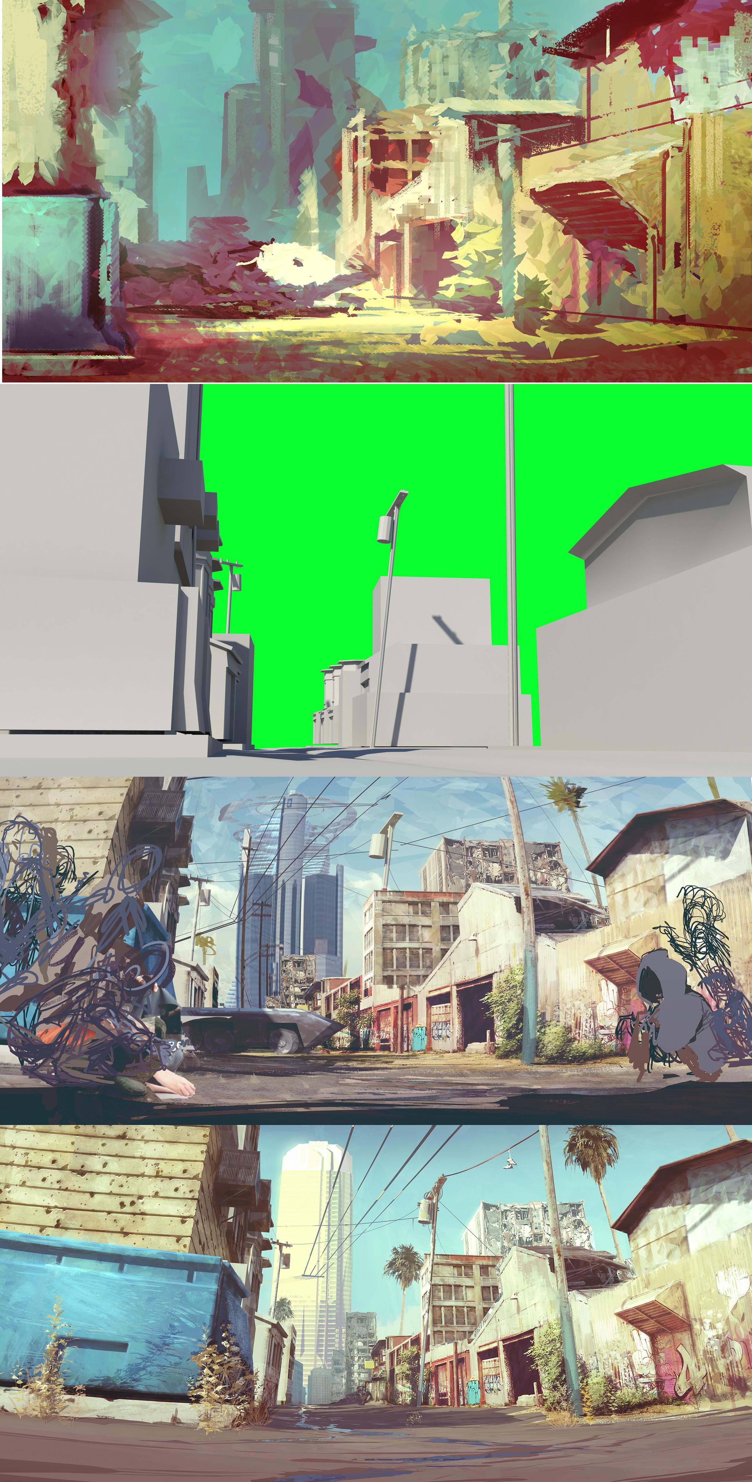 background progression