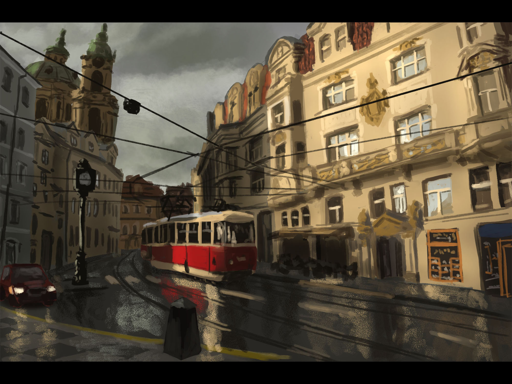 Photo Study: Streets of Prague (90-120 min)