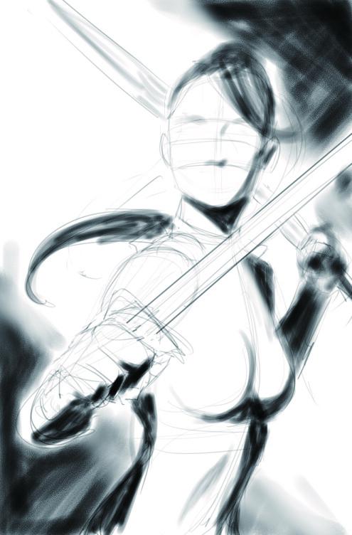 Initial sketch design