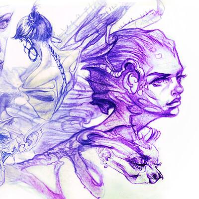 Chris petrocchi creative hex cover art