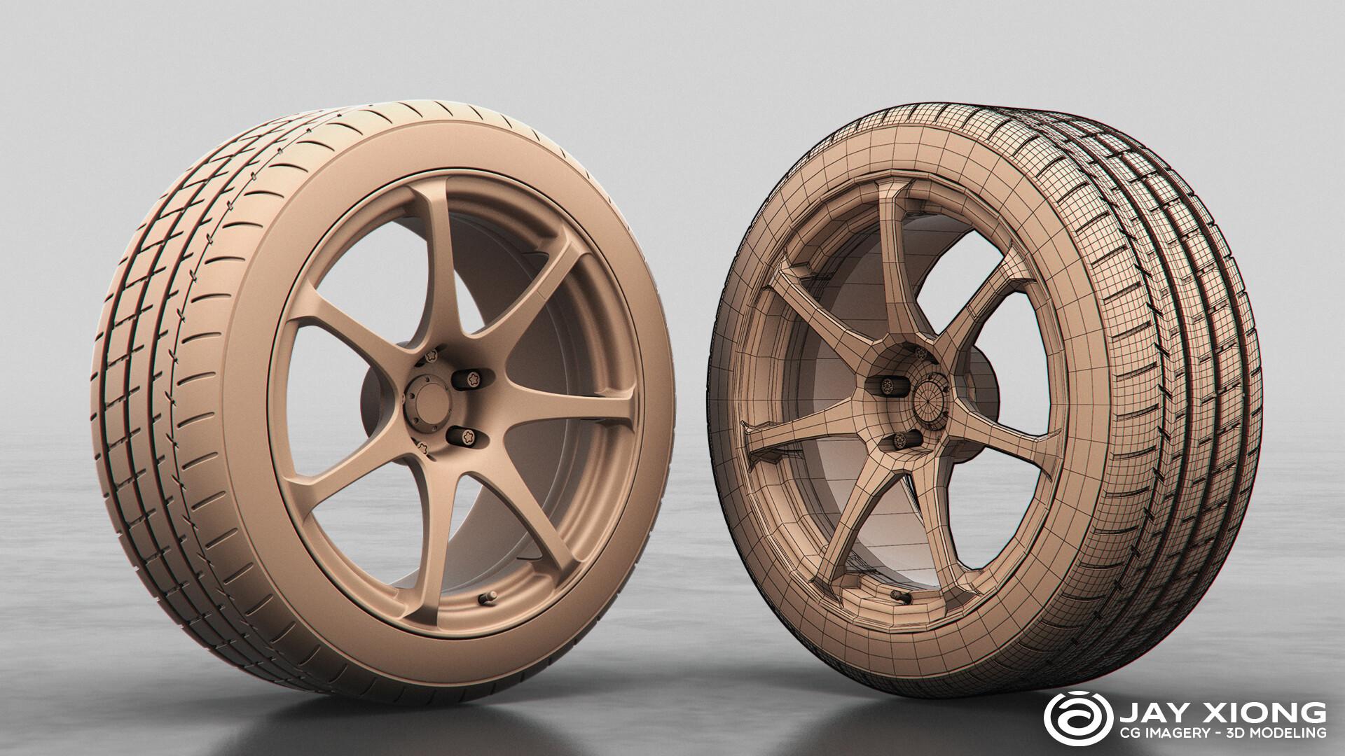 Advan T7 Wheel & Michelin Pilot Super Sport Tire