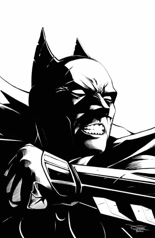 Donny d tran batman lightning inks
