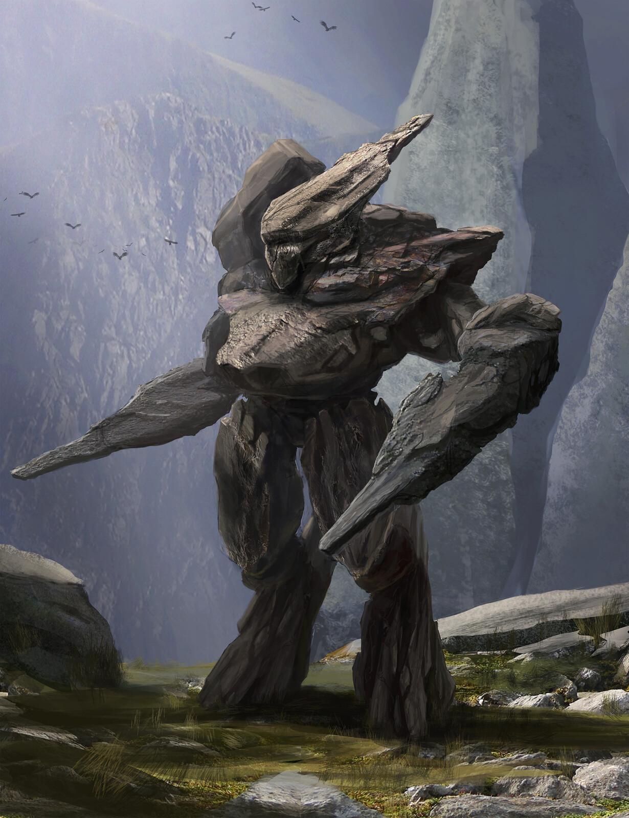 Rock Golem Concept