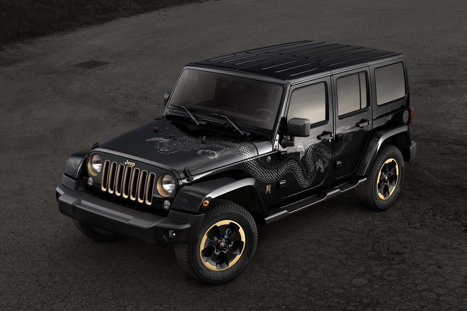 Jeep Wrangler: Fully CG Vehicle