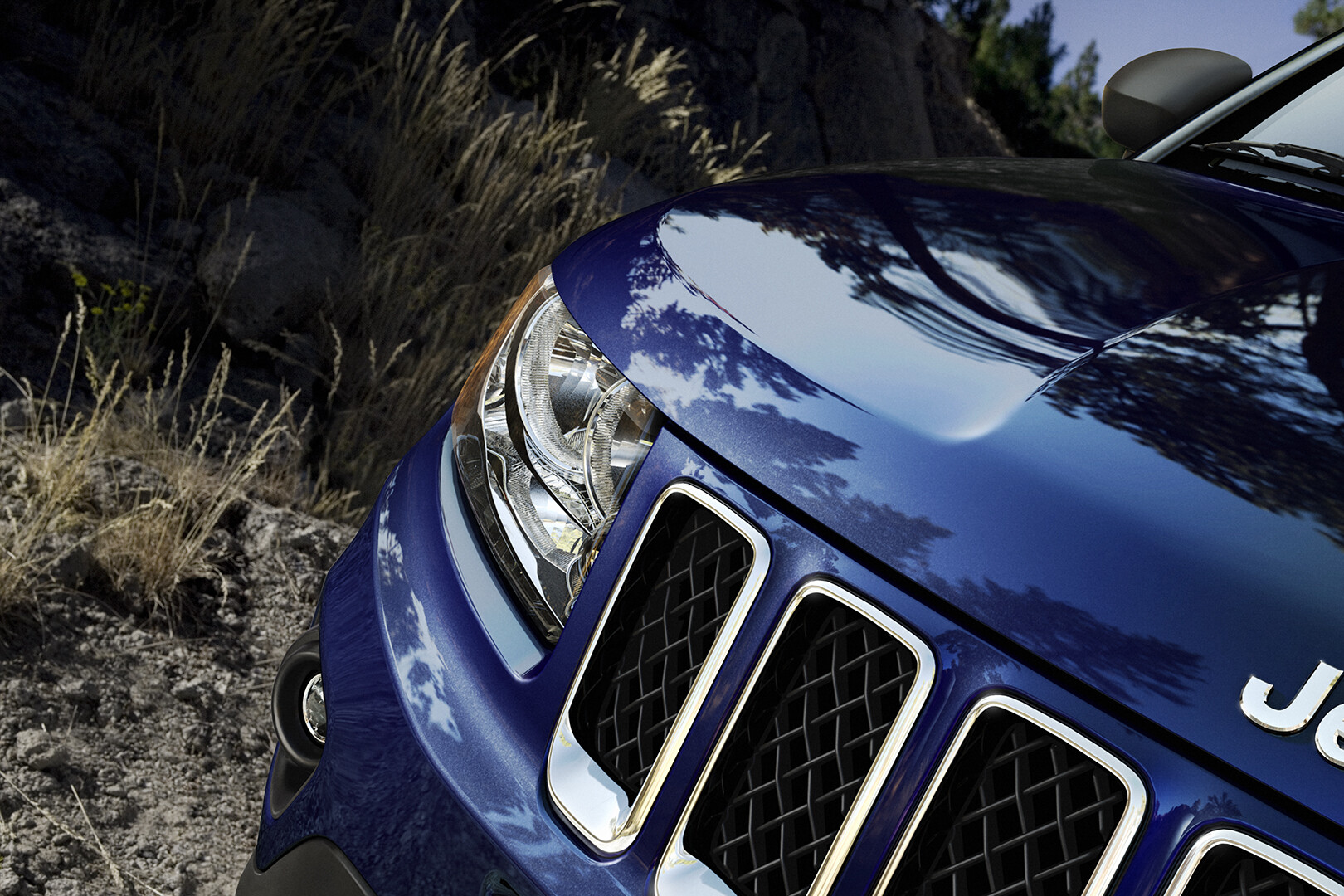 Jeep Compass: Fully CG Vehicle