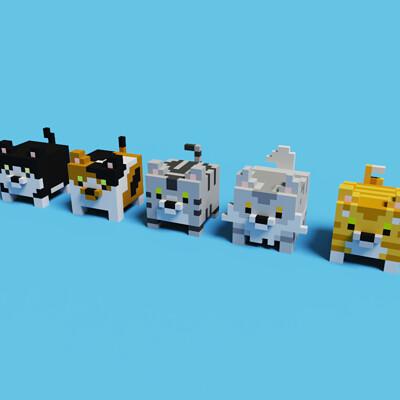 Rocinante urabe cats1