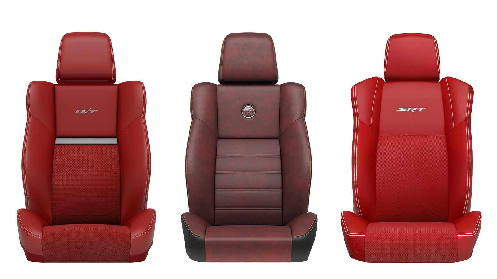 Dodge Challenger Seats: Fully CG
