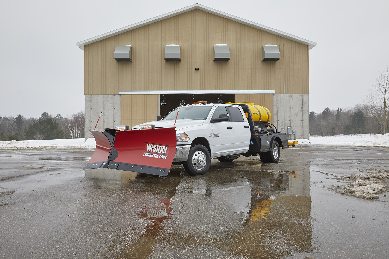RAM 3500: CG Salt Spreader