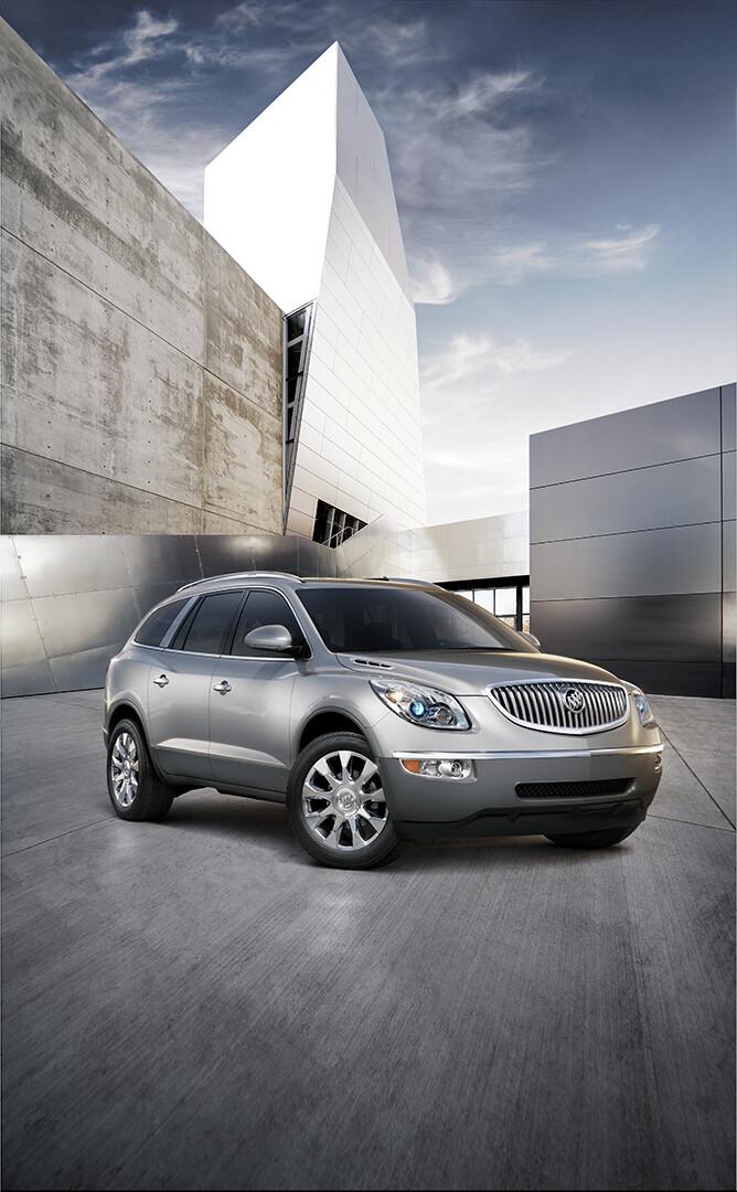 2011 Buick Enclave Tasks: Modeling (wheels & tires)