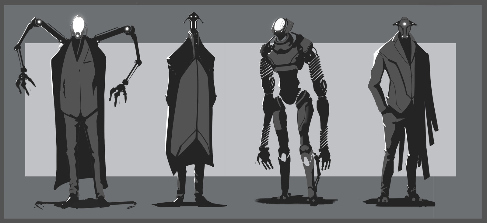 Early exploration for my evil CEO, maybe a robot?