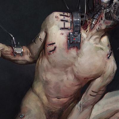 Thomas elliott cyborg personal piece thomas elliott low rez
