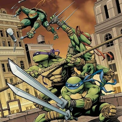 Donny d tran tmnt 74 color