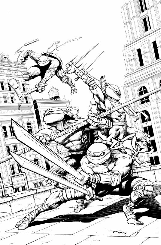 Line Art by Donny D Tran