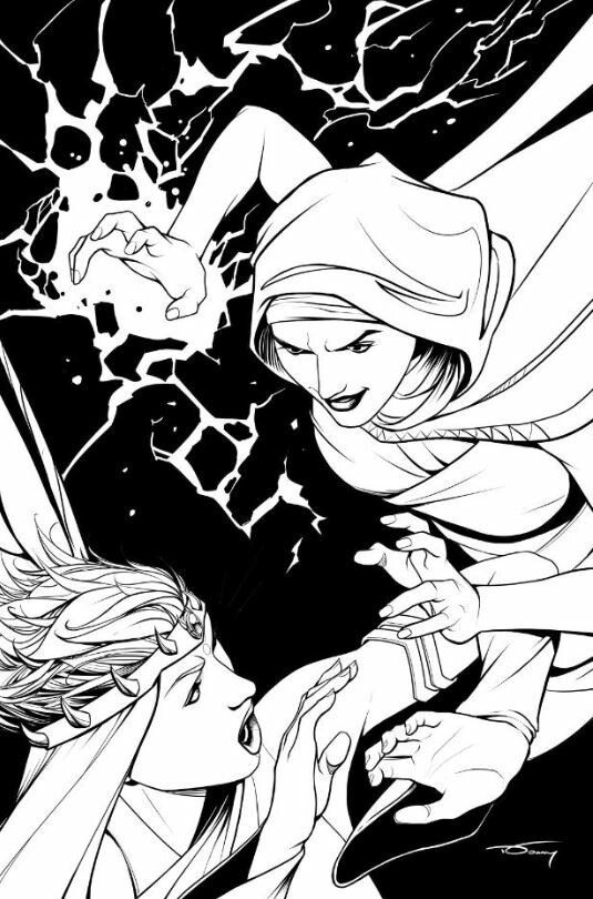 Donny d tran soulfire vol 7 issue 7 bw