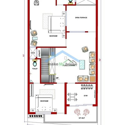 Artstation Make My House Online House Plan