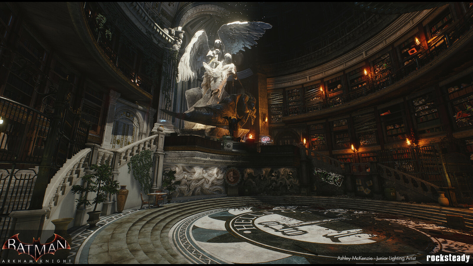 "Batman Arkham Knight Twoface ""Flip of a Coin"" DLC map"