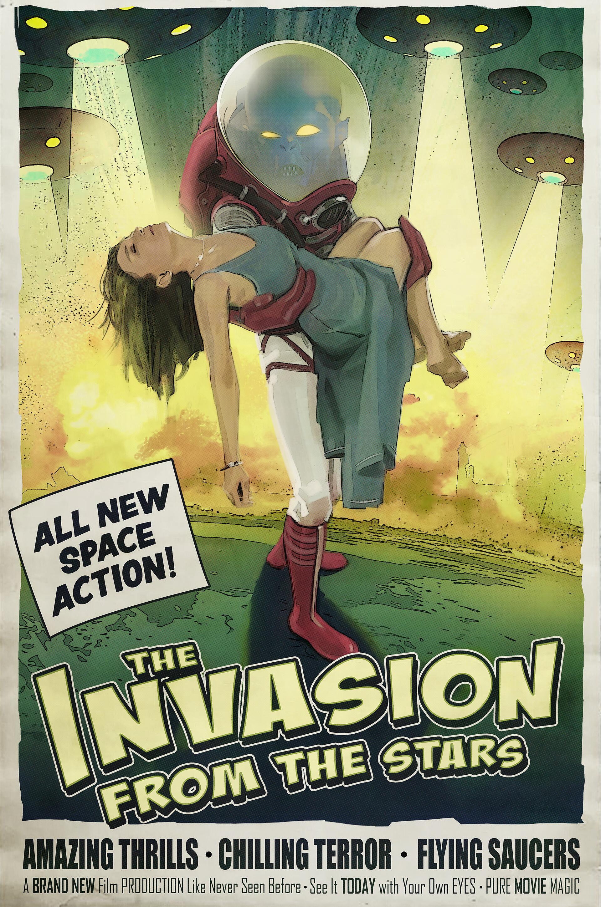 Chris ortega invasion