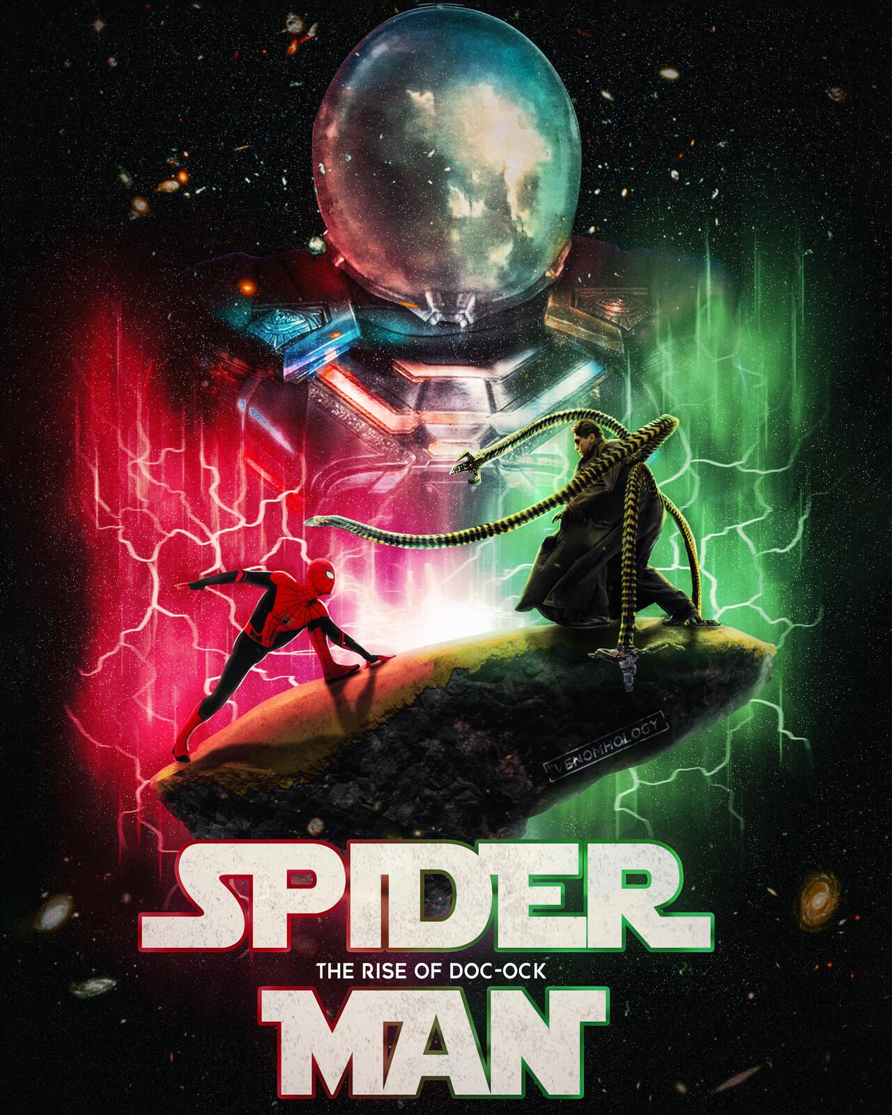 ArtStation - Spider-Man: The Rise Of Doc Ock, Hibban Mohammed