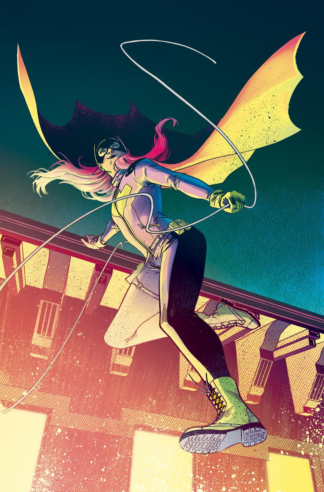 Batgirl Colours