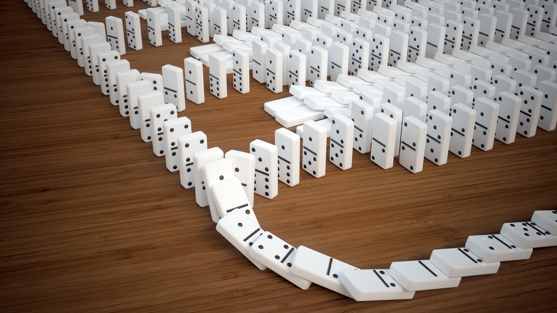 Ed schiffer dominoes 18