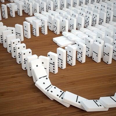 Ed schiffer dominoes 18