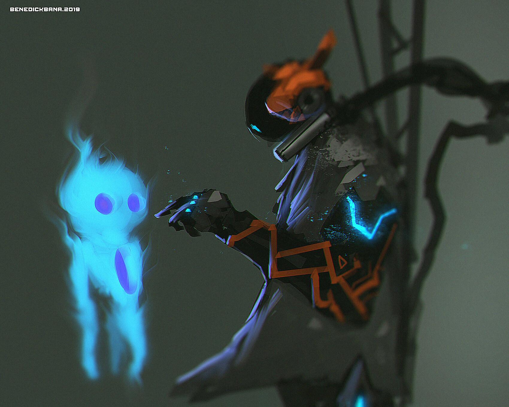 Speedpainting Ghostly