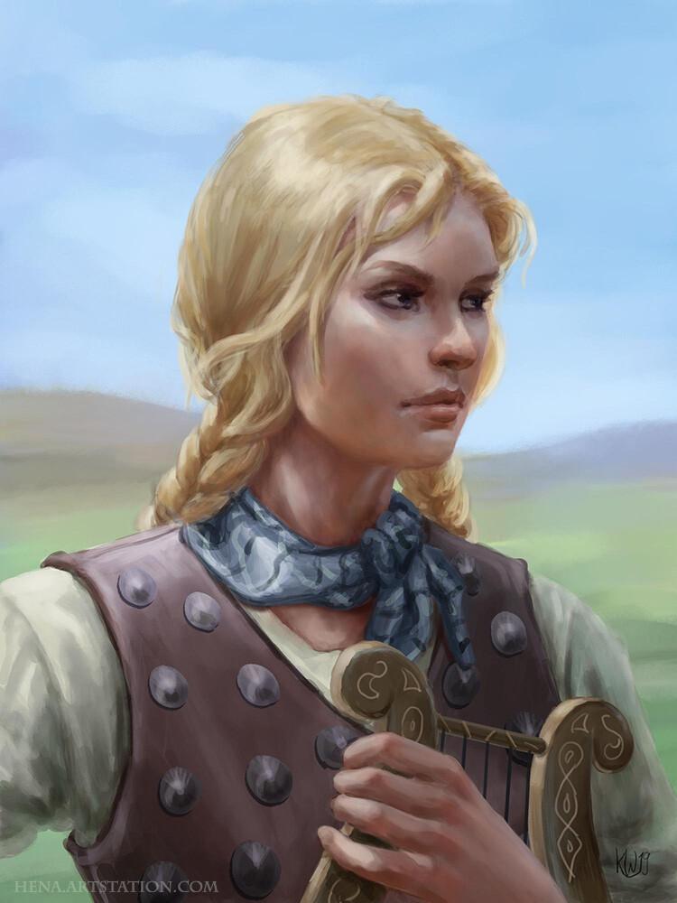 DSA: Hjaldis Portrait