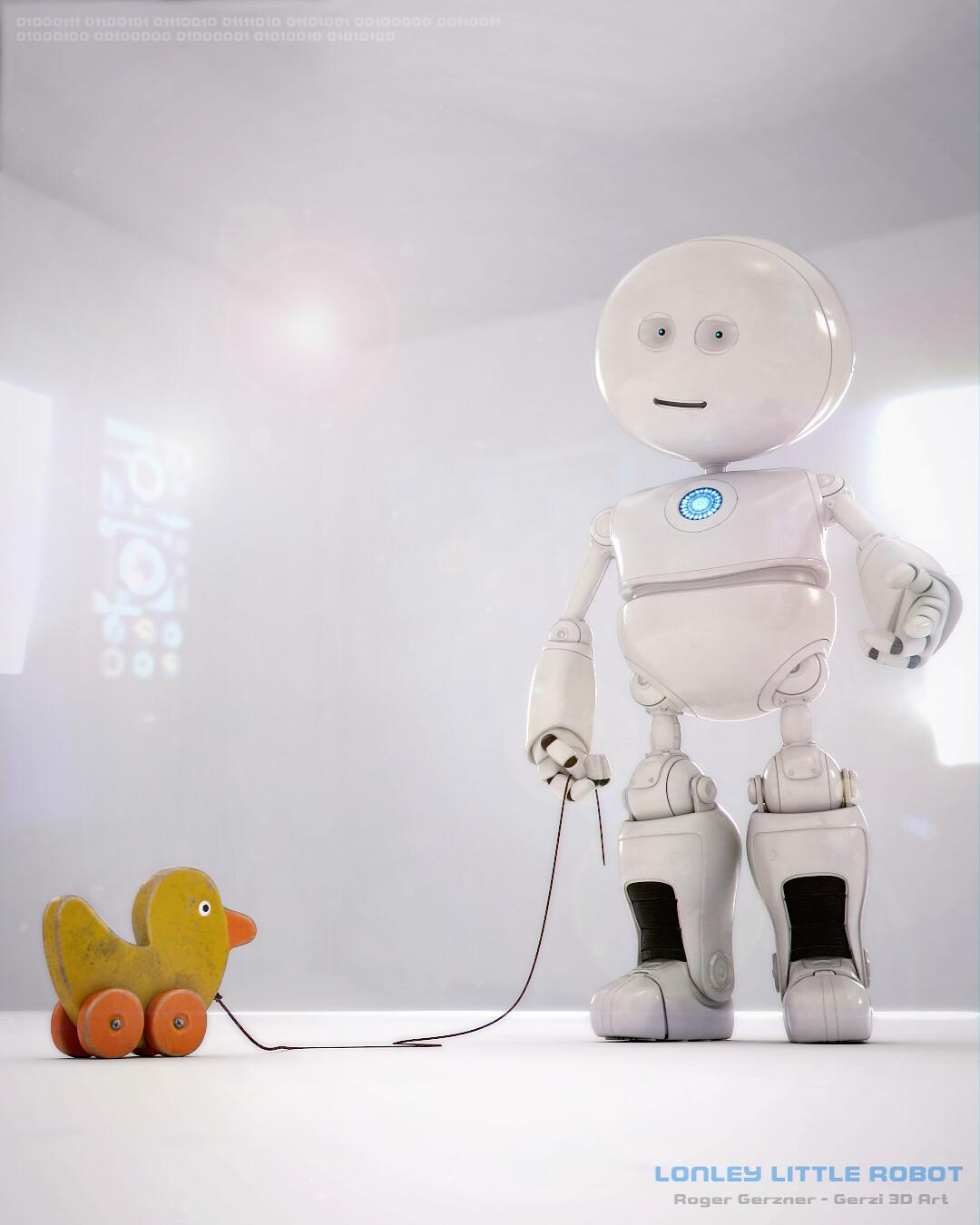 Roger gerzner lonley little robot