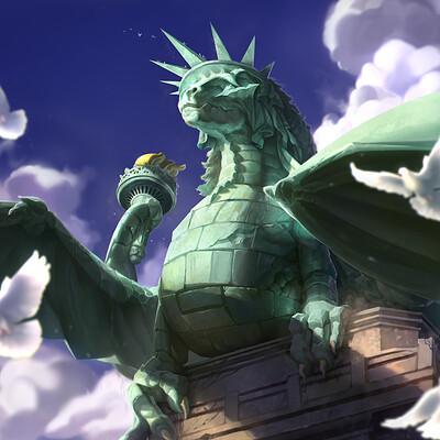 Richard sashigane statue of liberty reworked final3