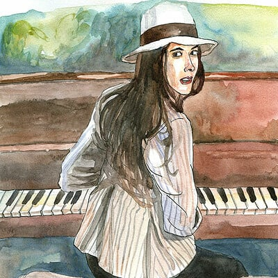 Yiska chen pianogirl wc yiska