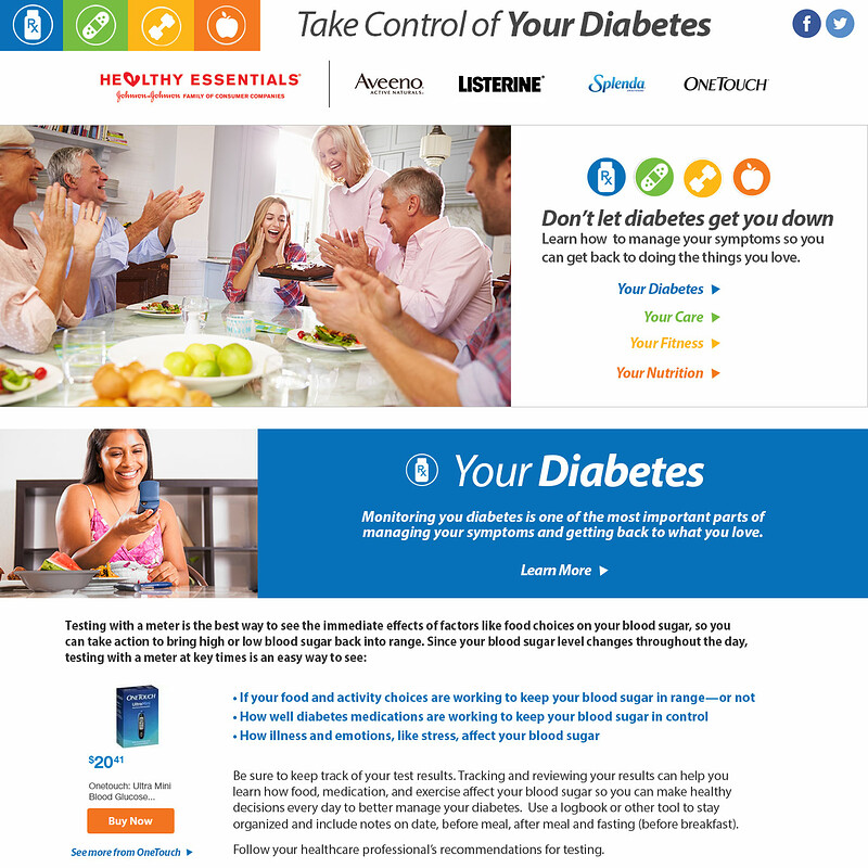 Johnson & Johnson Healthy Essentials Diabetes Center