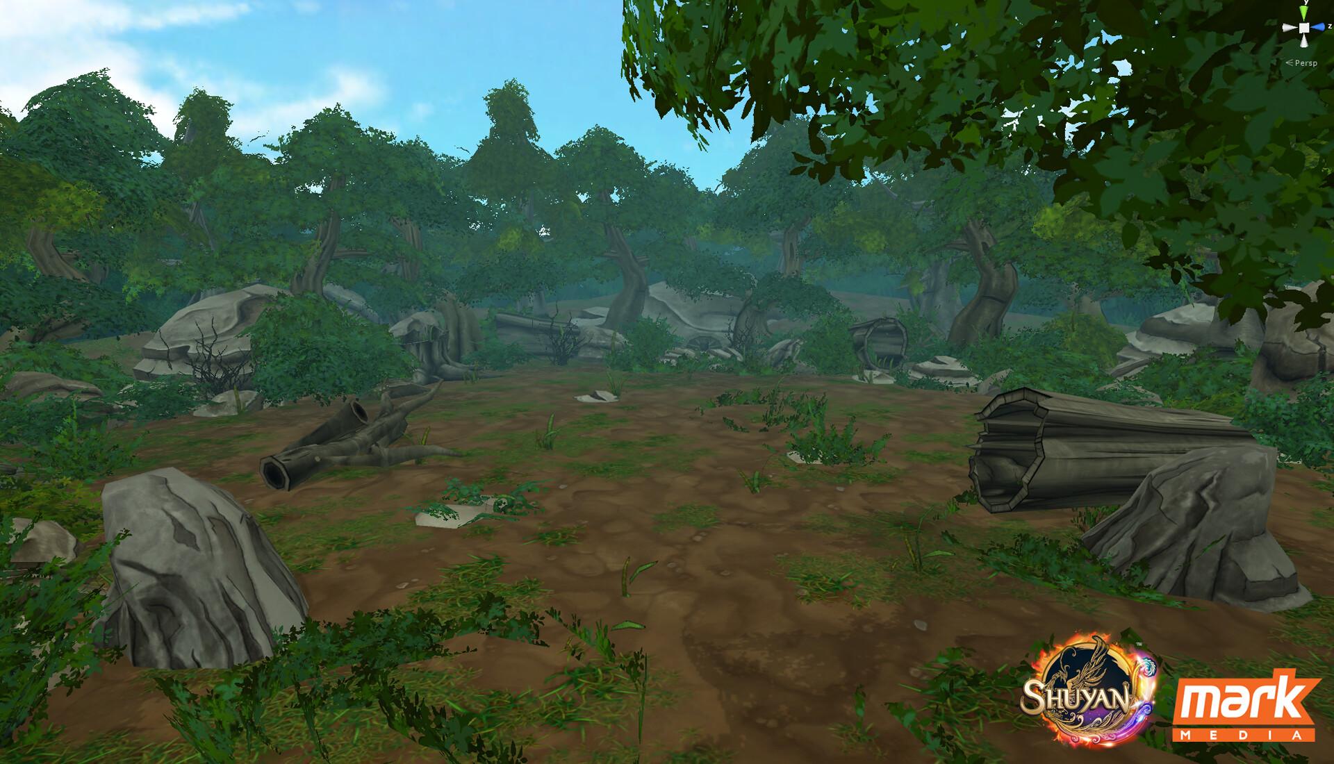 Pallavi maruvada forest 01