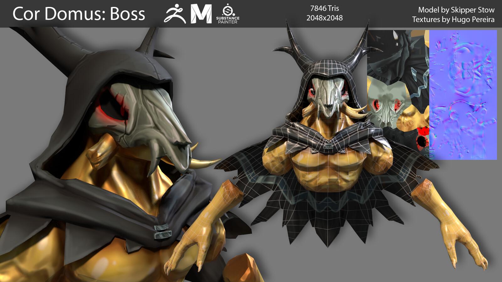 Final Boss model sheet