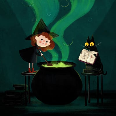 Tanya scott little witch