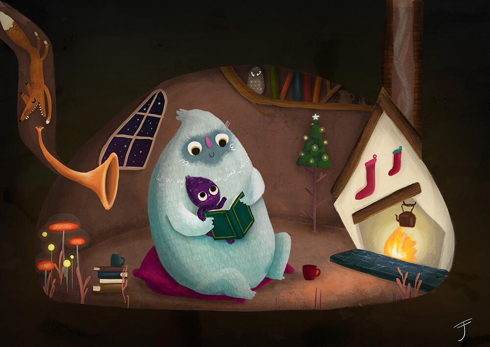 Yeti's Christmas