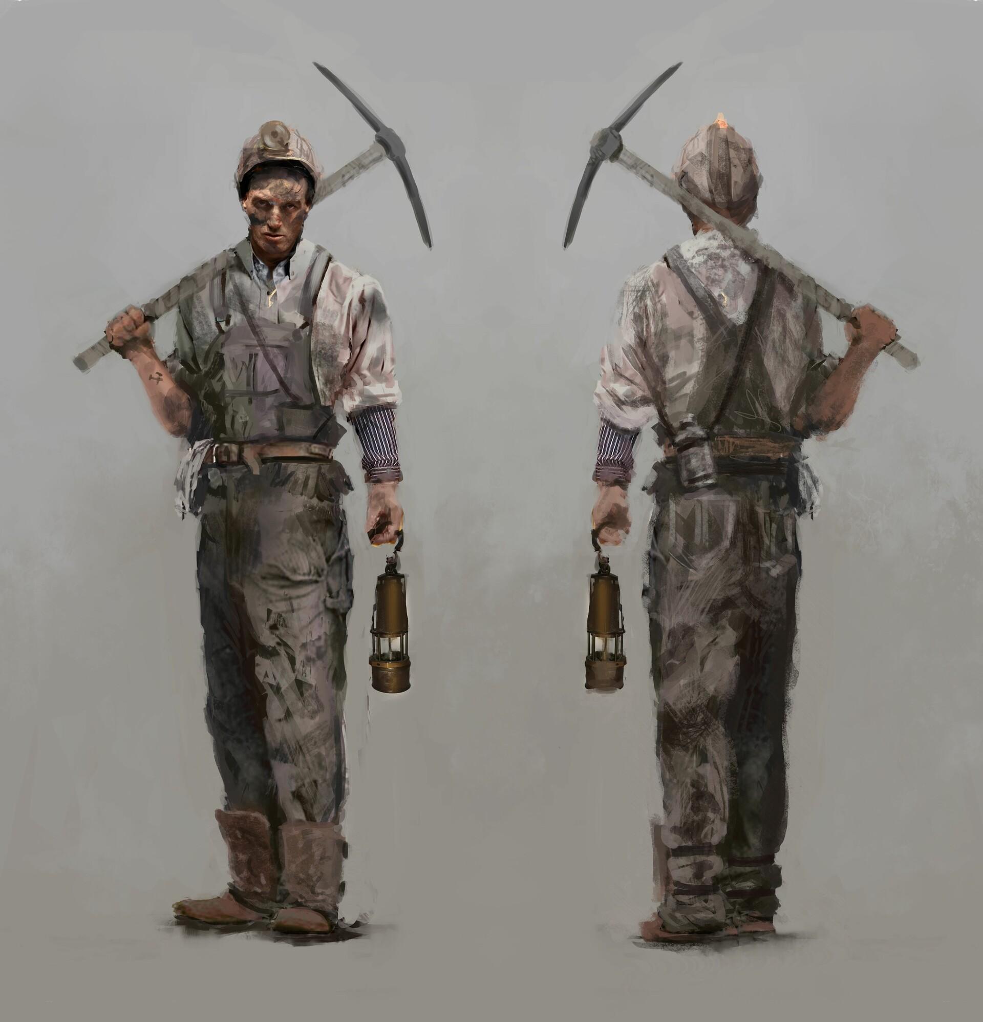 Julian hellwig miner artwork