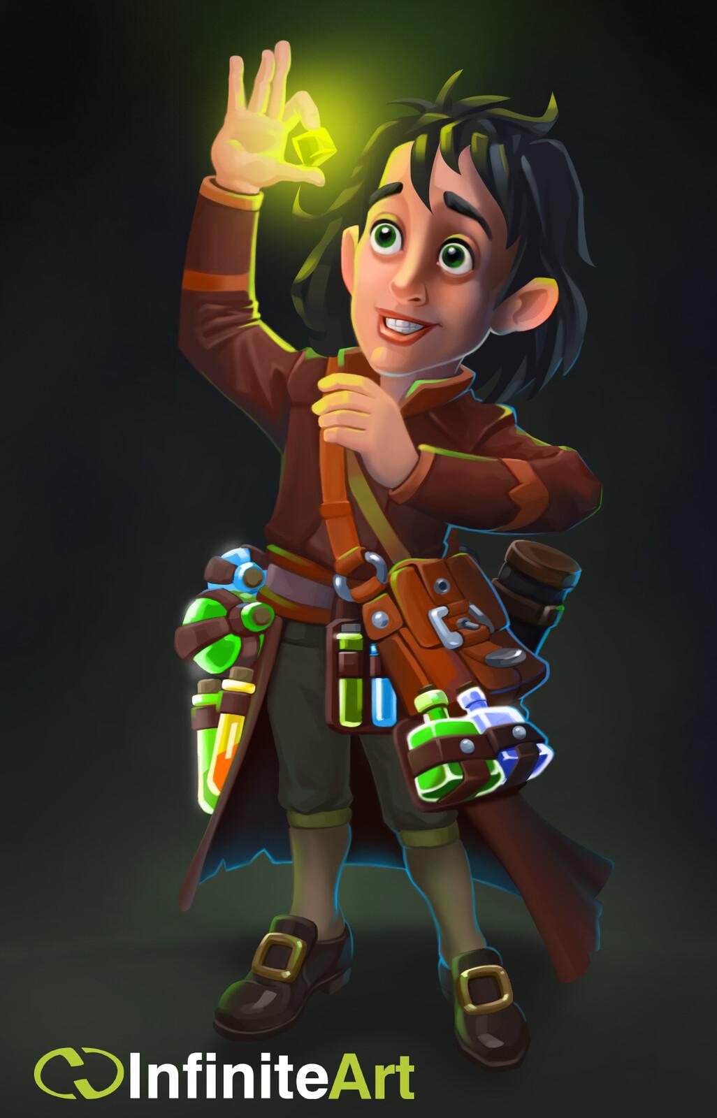 Young alchemist