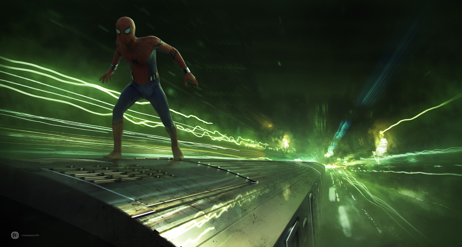 Spider-Man: Far From Home - Light Speed Train