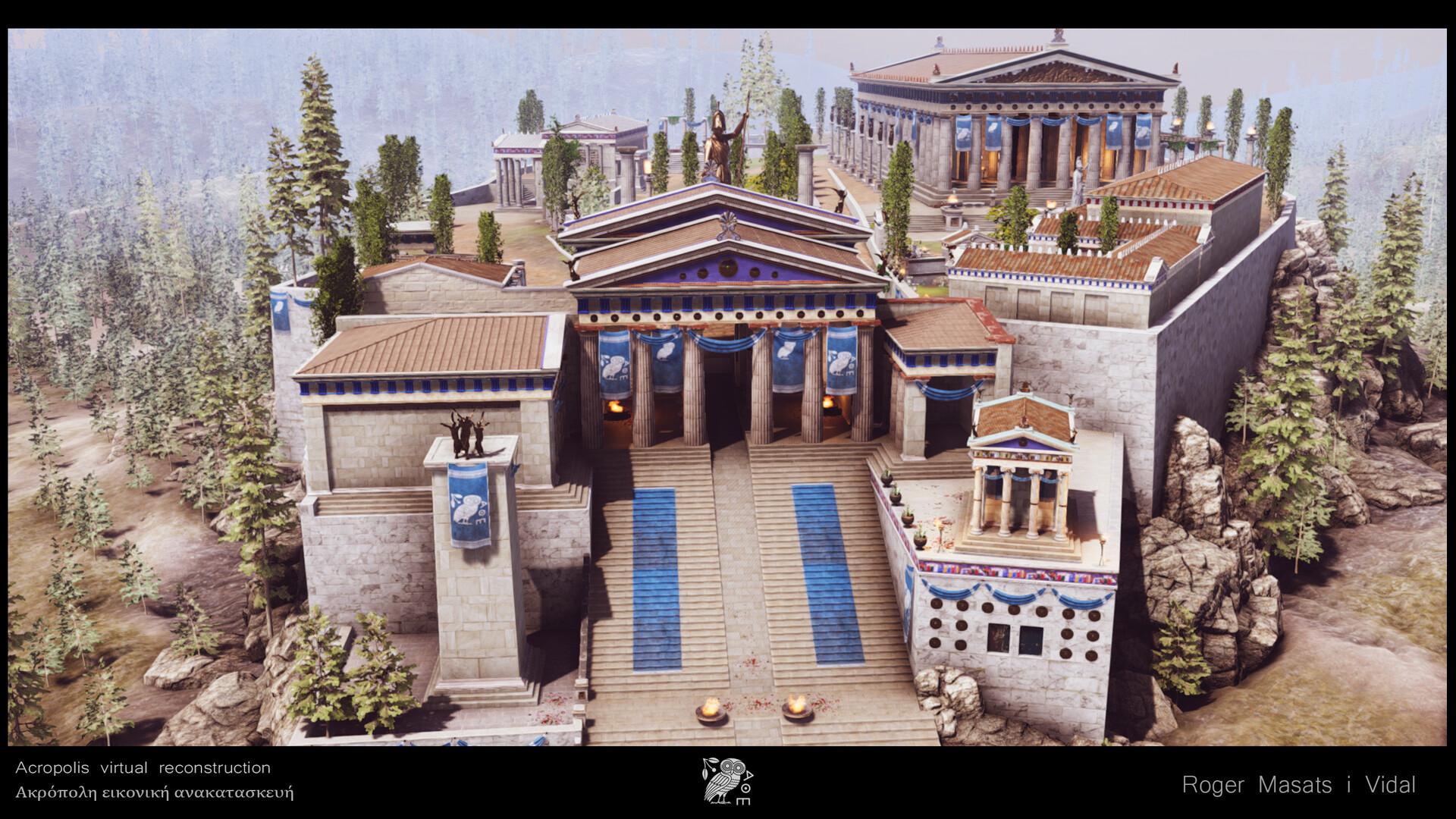 Propylaea and Acropolis