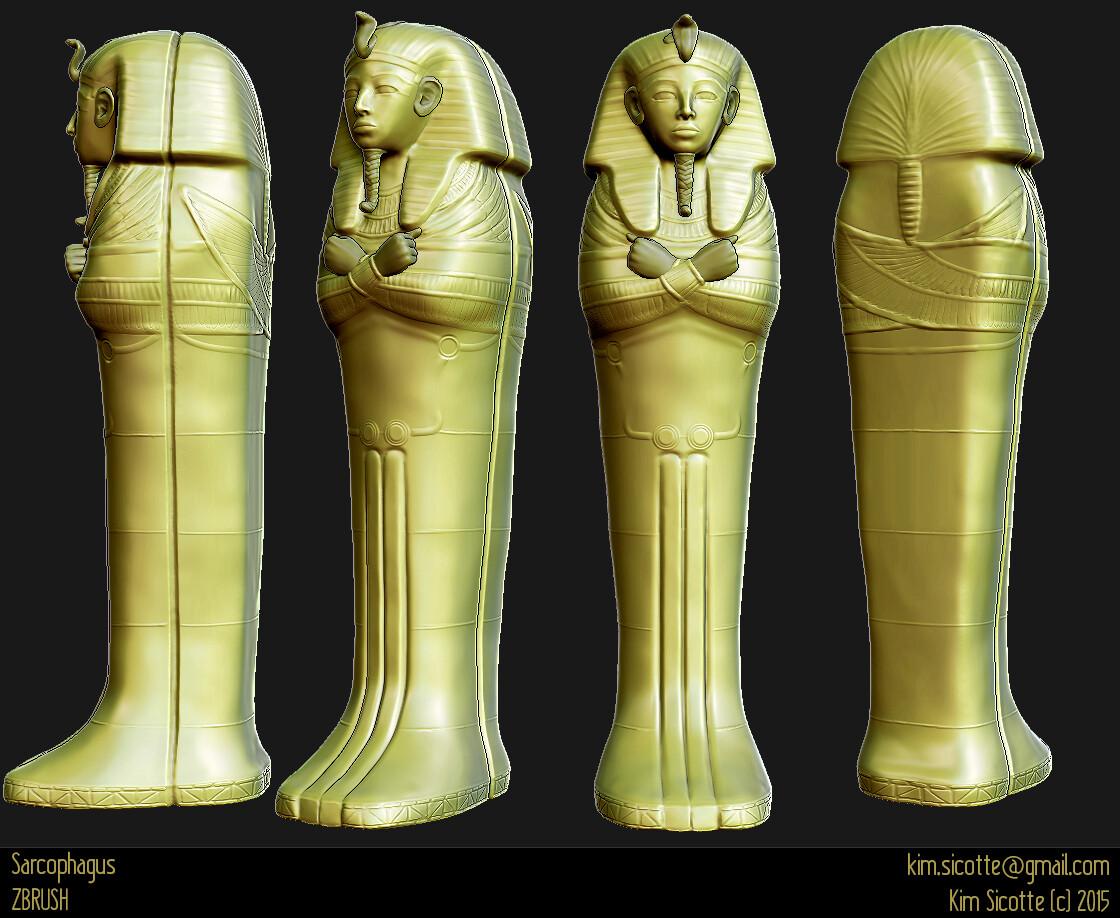 Kim sicotte sarcophage zbrush