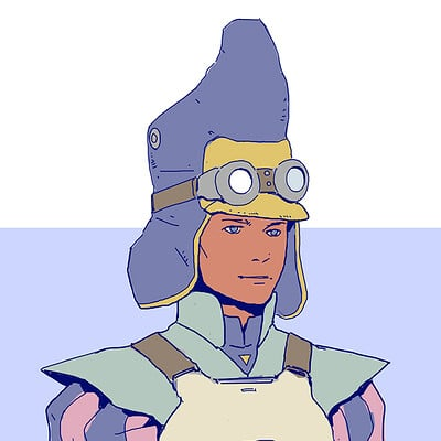Thomas wievegg moebius inspired character