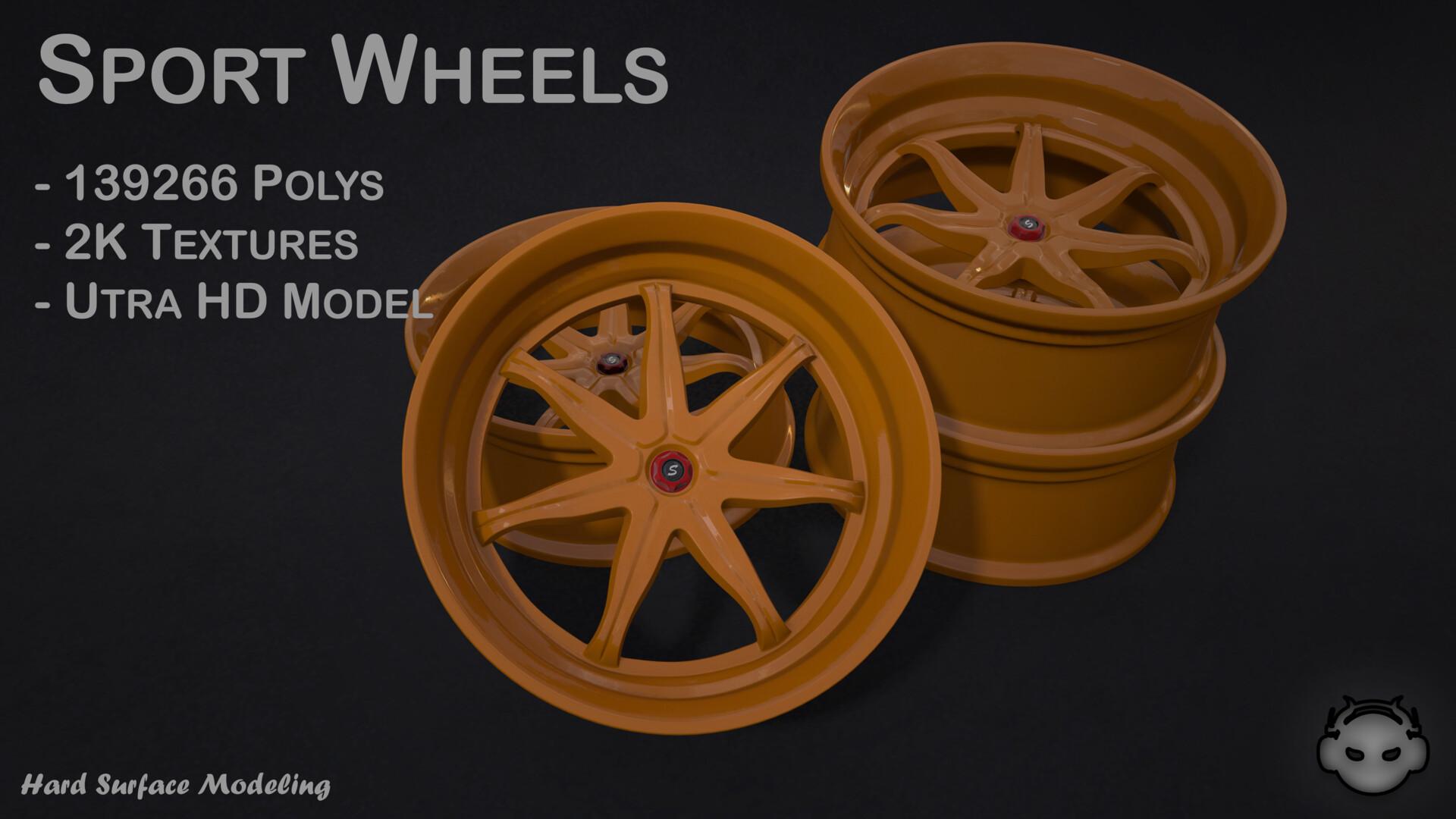 ArtStation - Sport Wheels, Kirill Egorov