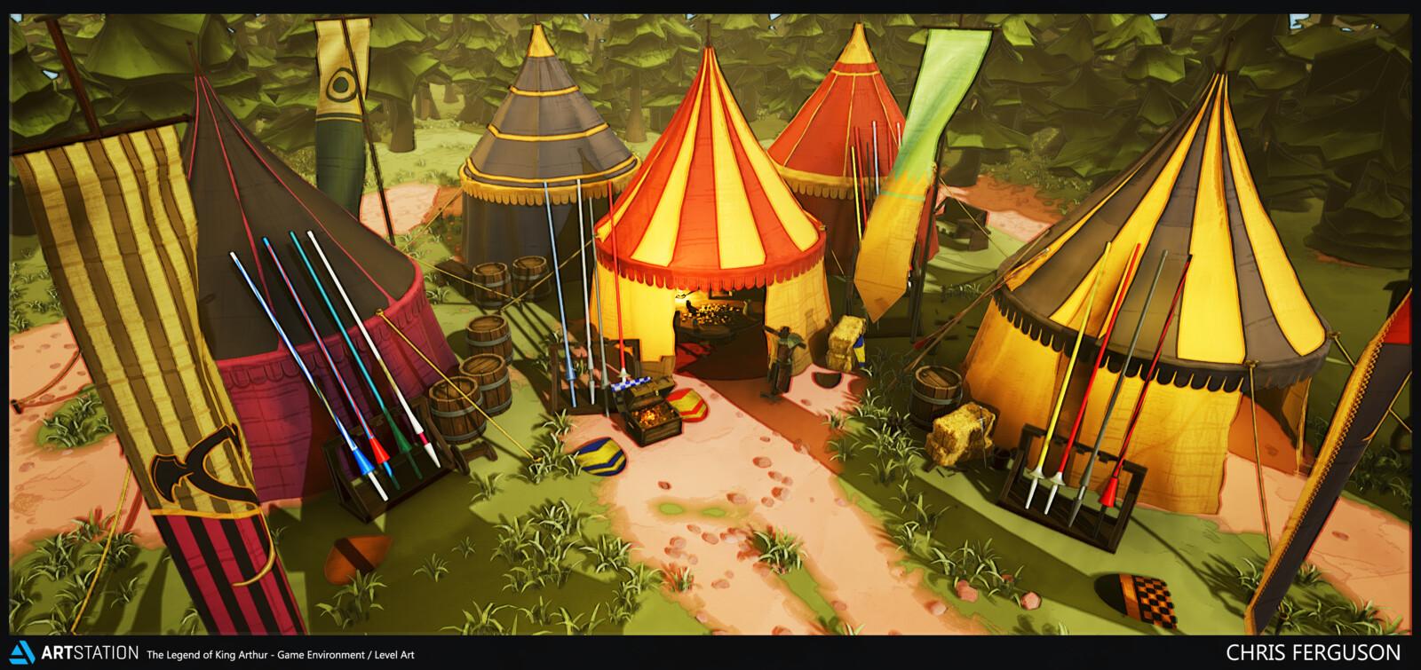 Artstation Challenge: Legend of King Arthur