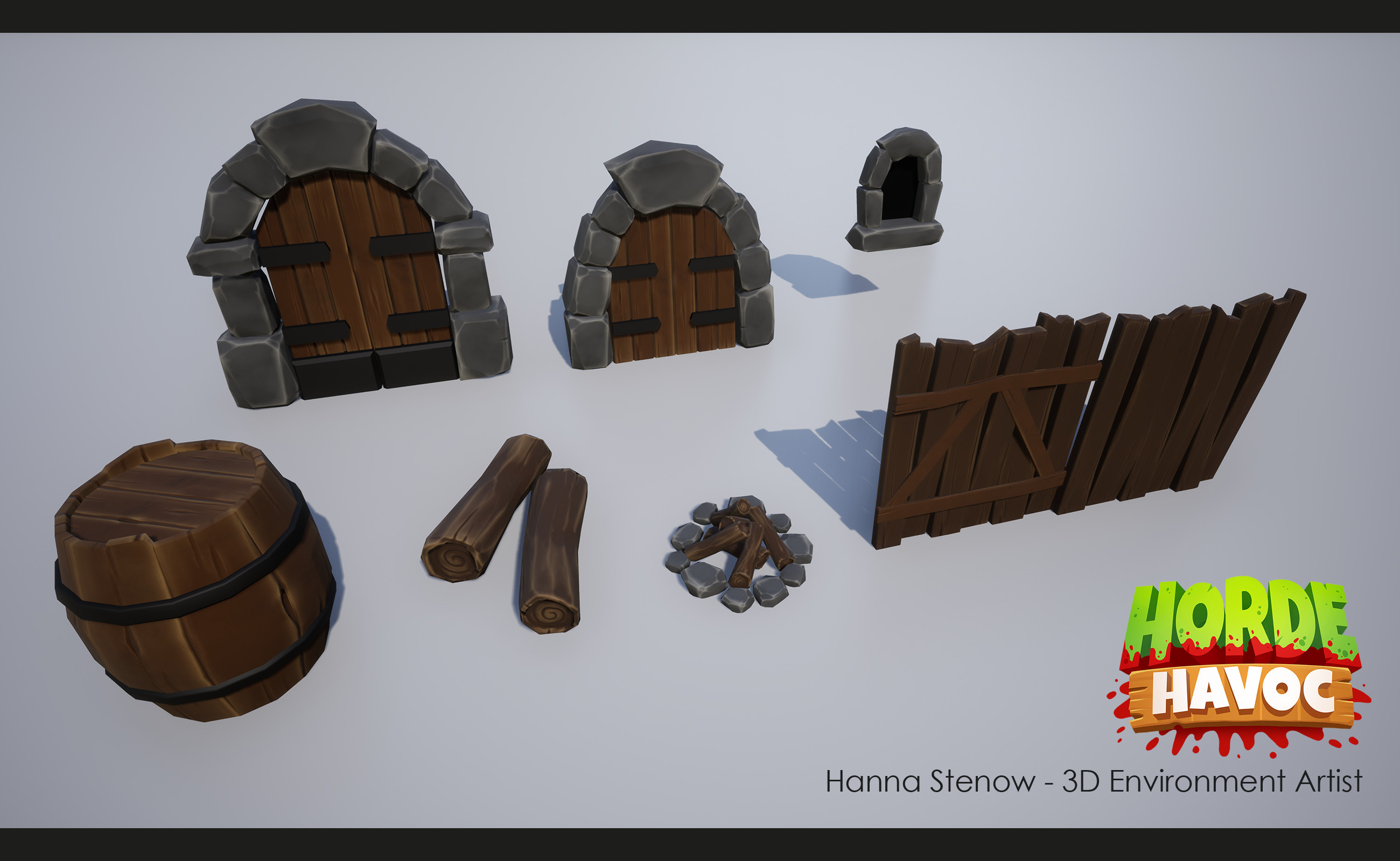 Some smaller decorative assets.