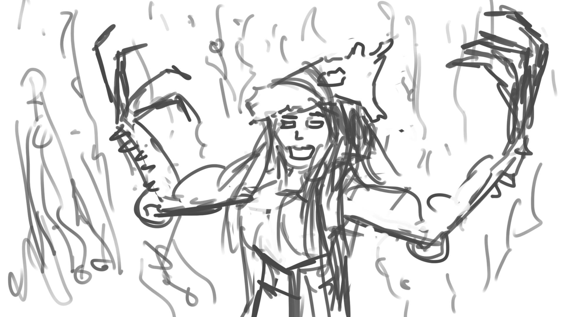 Alexander laheij girl with armor