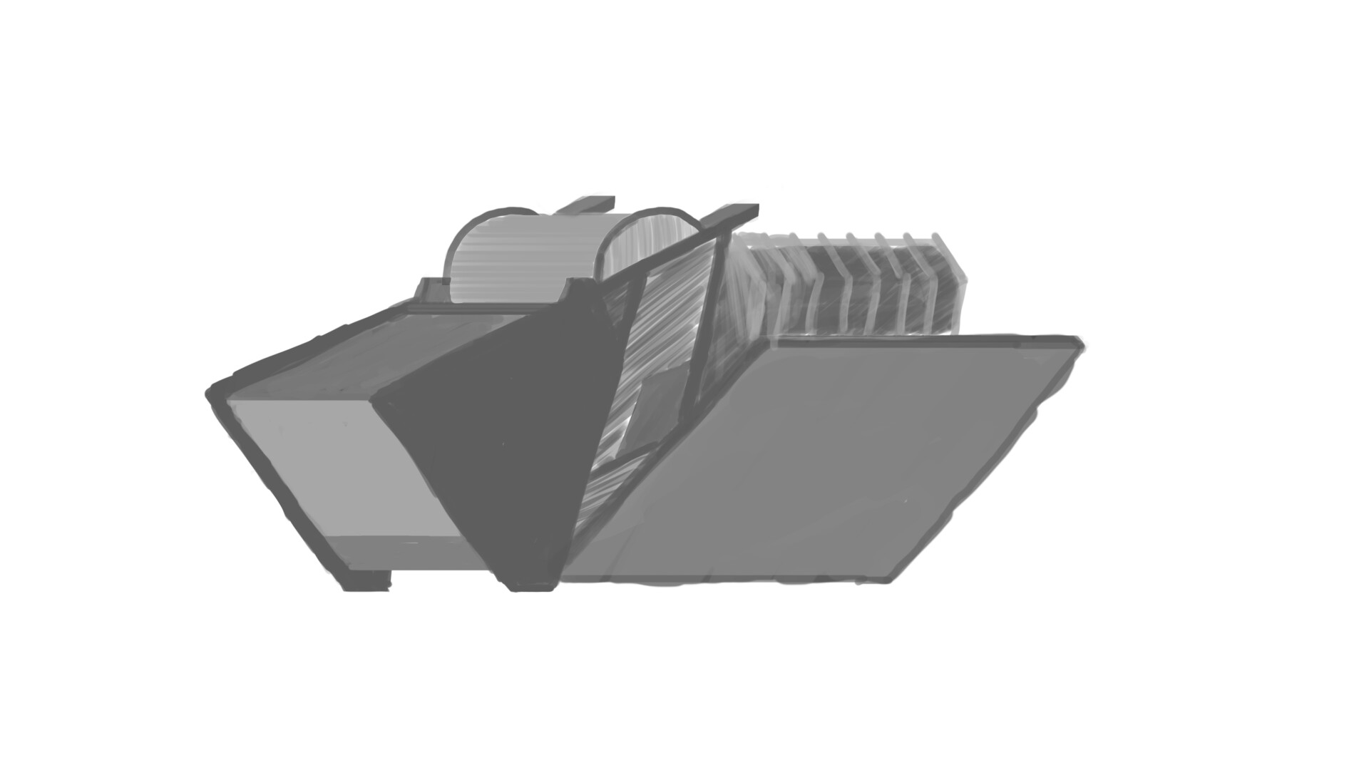 Alexander laheij ship texture and shape experimenting