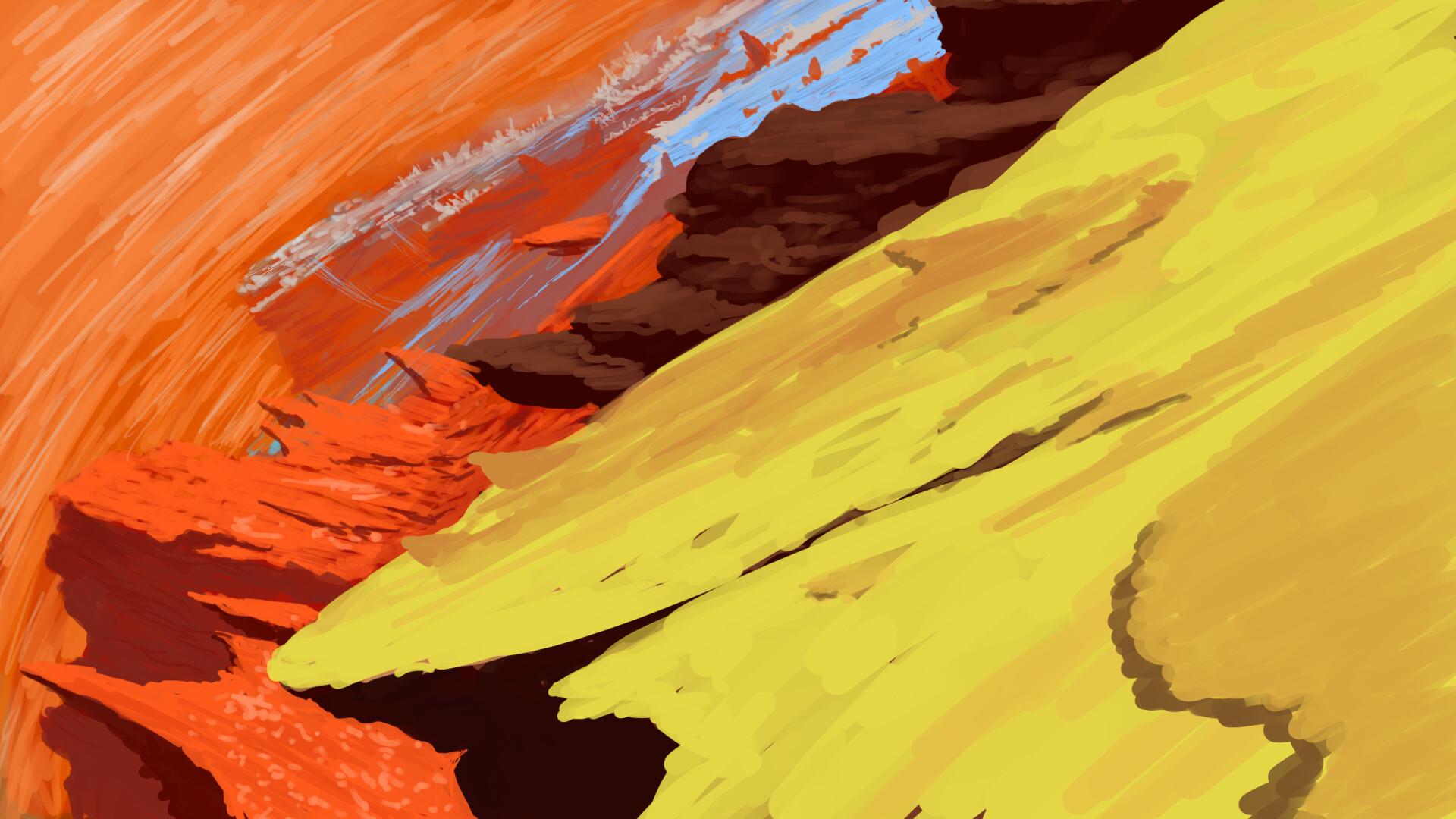 Alexander laheij environment desert sideways