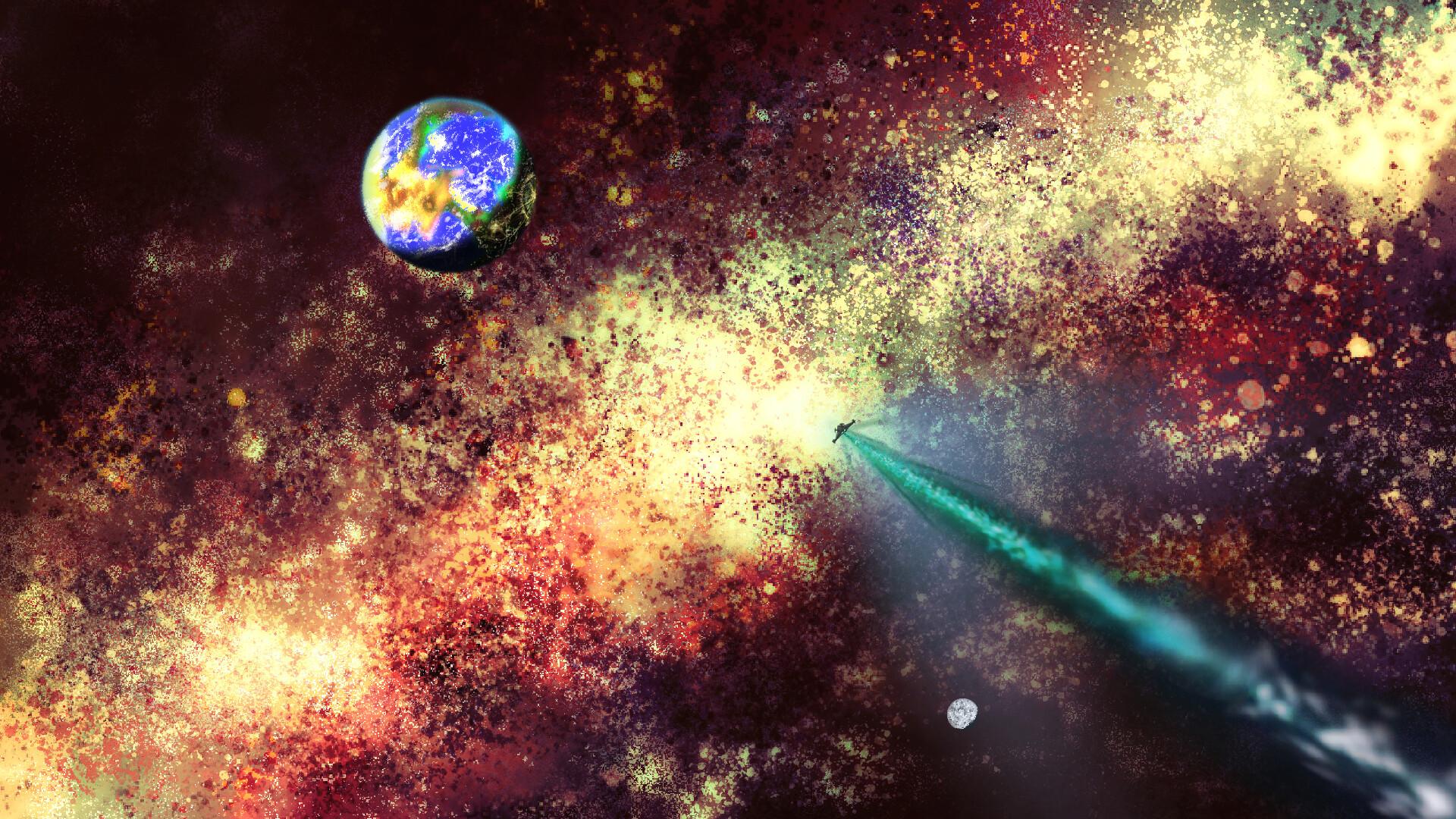 Alexander laheij planet in spaceeee