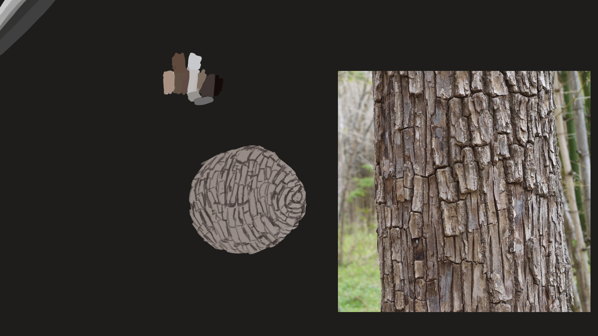 Alexander laheij study material wood wip